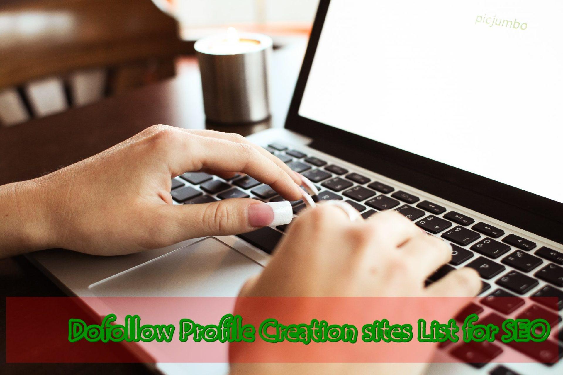Domain Authority Profile Creation Sites List