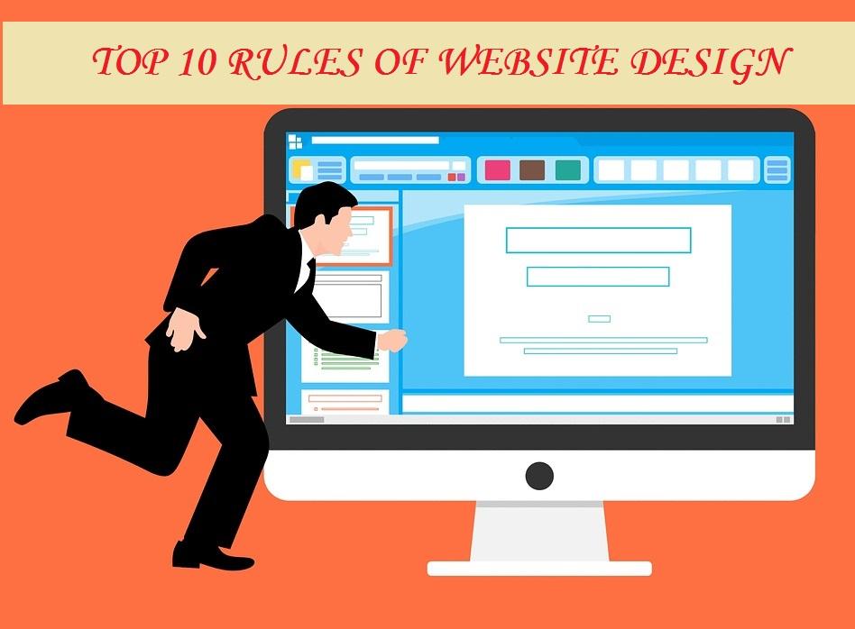 TOP 10 RULES OF WEBSITE DESIGN