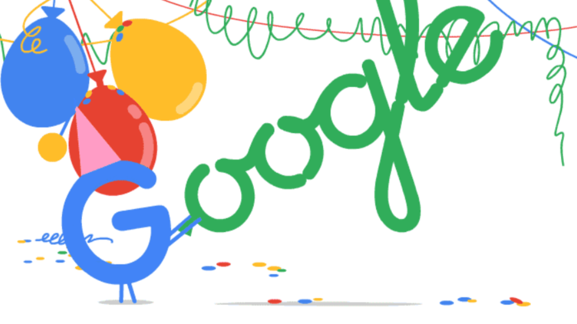 Commemorating 20 years of Google