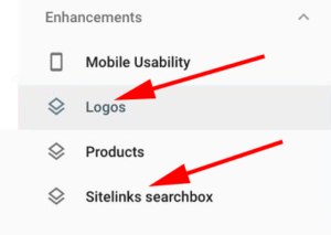 Logo & Sitelinks Searchbox Enhancements Report
