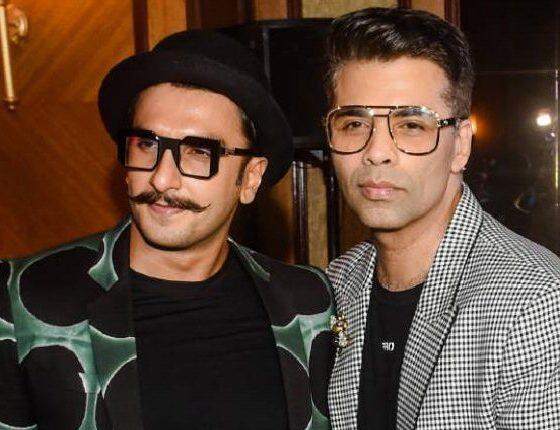 Karan Johar and Ranveer Singh