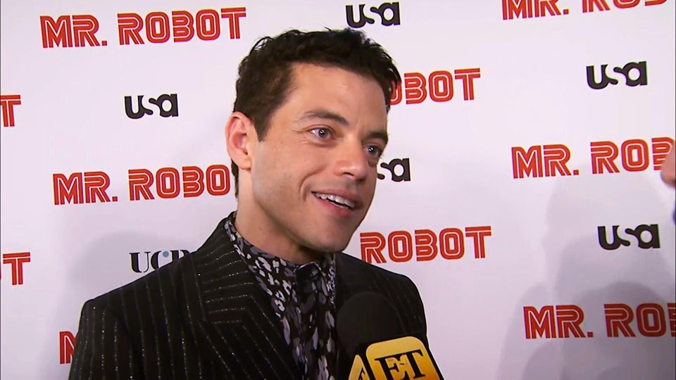 "Here's what Rami Malek Talks about ""Bittersweet"" Final Season of 'Mr. Robot,' New Bond Film"