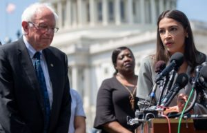 Bernie Sanders Nabs The Support Of AOC,
