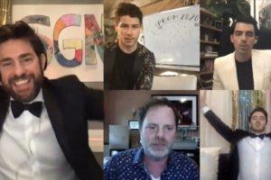 John Krasinski Hosts A Virtual Quarantine Prom With Billie Eilish And The Jonas Brothers