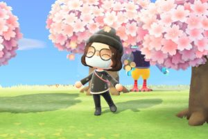 The Cherry Blossom Season Of New Horizons' Ends Soon : Animal Crossing