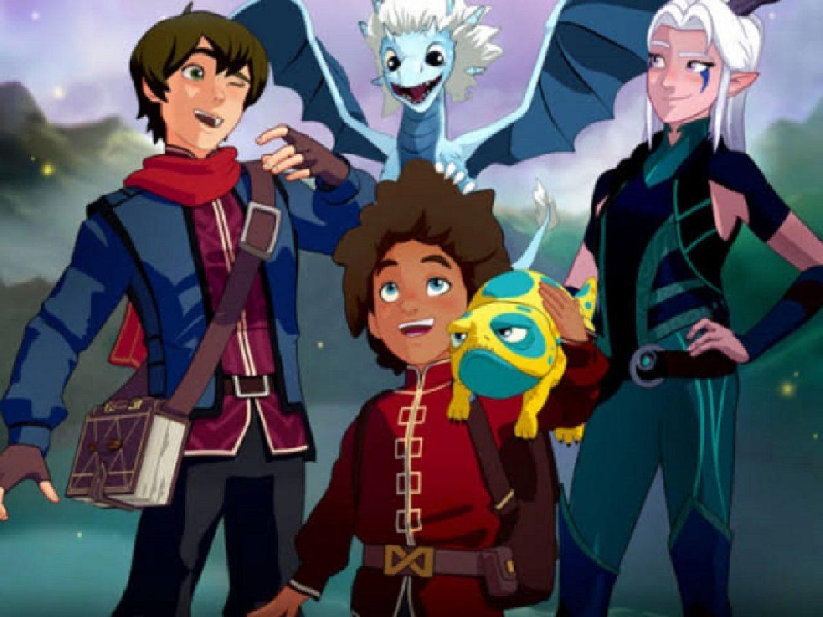 The Dragon Prince Season 4 Data de Lançamento, Elenco, Enredo e American Animated Series 1