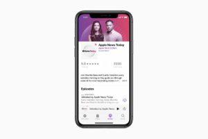 Apple lança seu novo podcast de notícias para competir com outras plataformas