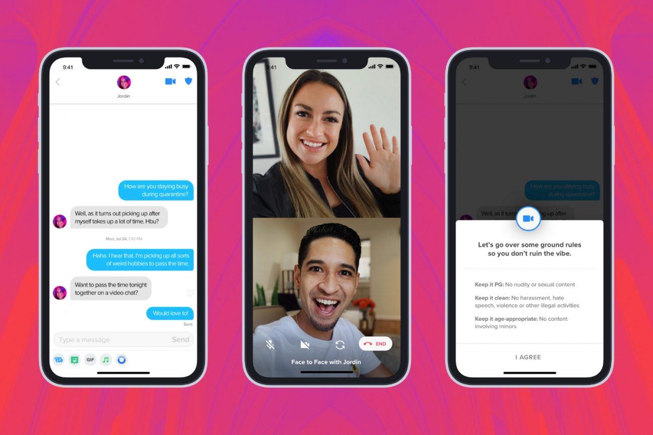 Teste de chamadas de vídeo no aplicativo lançado pelo Tinder em regiões selecionadas 5