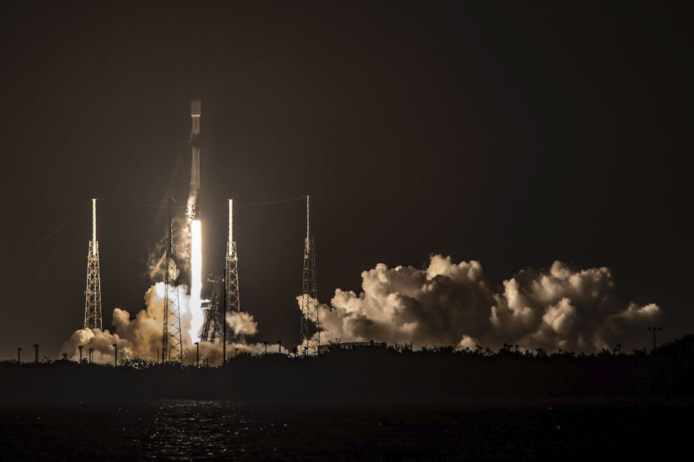 60 More Starlink Internet Satellites Launched By Spacex In 100th Falcon 9 Launch