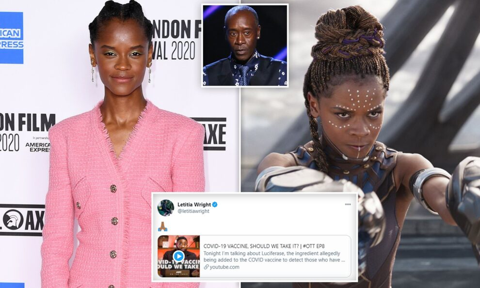 Letitia Wright (Black Panther) Faces Down Backlash After Posting An Anti-Vax Video
