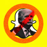 Donald Trump's account has been permanently closed by Snapchat