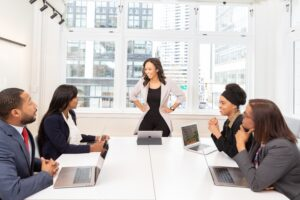 How Business Leaders Make Good First Impressions
