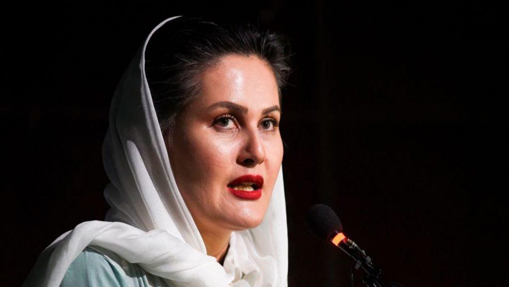Sahraa Karimi: Filmmaker of Afghan urges people not to remain silent